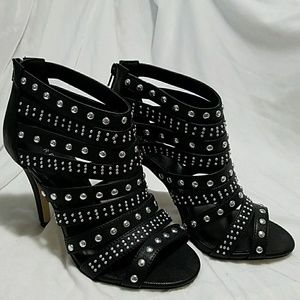 Torrid Black Silver Studded Metal